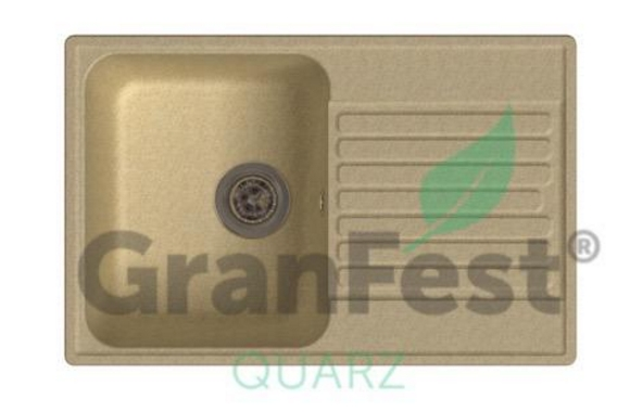 Мойка из искусственного камня «GranFest» ЕСО-78