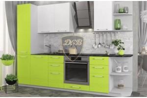 Кухонный гарнитур «Капля» 2600 мм