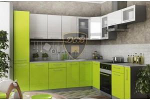 Кухонный гарнитур «Капля» 2800х2200 мм