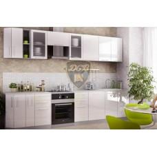 Кухонный гарнитур «Капля» 3300 мм