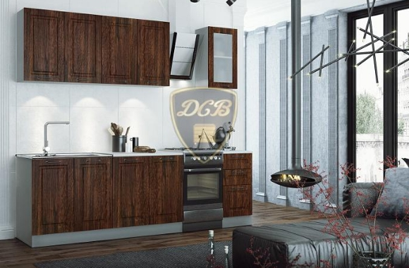 Кухонный гарнитур «Капри» 2000 мм