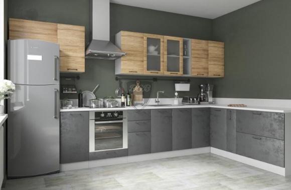 Кухонный гарнитур «Лофт» 3200х2000 мм