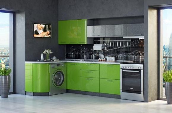 Кухонный гарнитур «Ирина» 1500х2800 мм