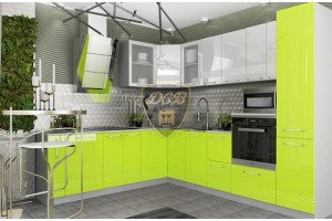Кухонный гарнитур «Капля» 2300х2800 мм