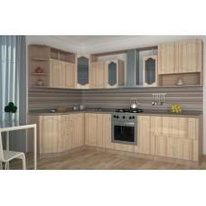 Кухонный гарнитур «Ольга» 1700х3200 мм