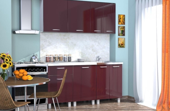 Кухонный гарнитур «Ирина» 1600 мм