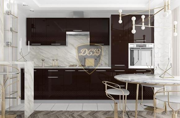 Кухонный гарнитур «Капля» 3100 мм