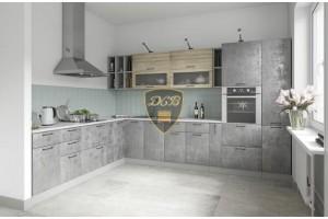 Кухонный гарнитур «Лофт» 2600х3400 мм