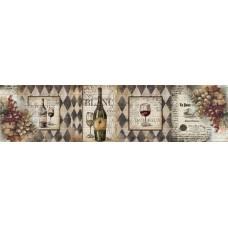 Стеновая панель «Акватон» Белое вино