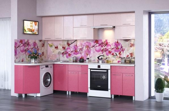 Кухонный гарнитур «Ирина» 1500х2400 мм