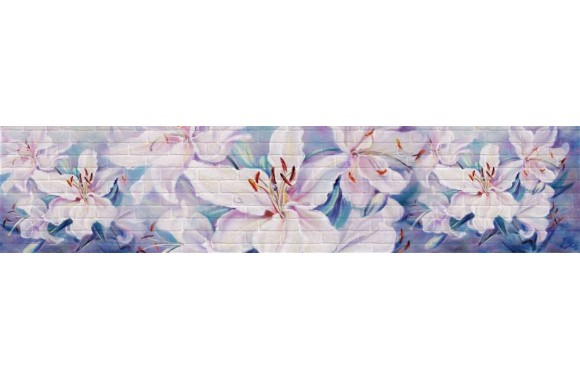 Стеновая панель «Акватон» Лилия