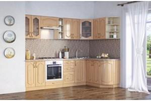 Кухонный гарнитур «Ольга» 2600х1500 мм