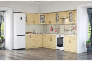 Кухонный гарнитур «Ольга» 1800х3200 мм