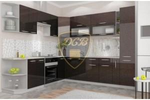 Кухонный гарнитур «Олива» 2500х2800 мм