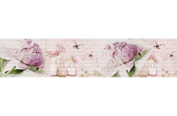 Стеновая панель «Акватон» Пион