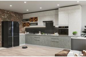 Кухонный гарнитур «Скала» 1000х4400 мм